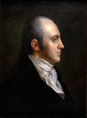 John Vanderlyn, Aaron Burr, 1802 (New York Historical Society)