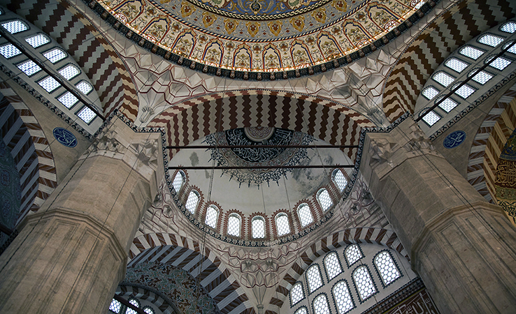 Sinan, Mosque of Selim II, Edirne, Turkey, 1568–1575 (photo: Basak Buyukcelen, CC BY-NC-SA 2.0) https://flic.kr/p/abk34W