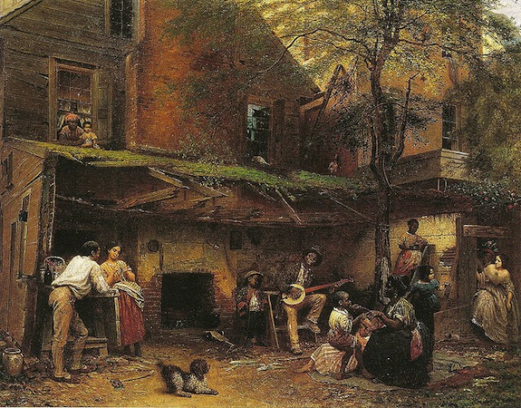 Eastman Johnson, Old Kentucky Home—Negro Life at the South, 1859, oil on canvas, 36 x 45.25 inches (New York Historical Society)