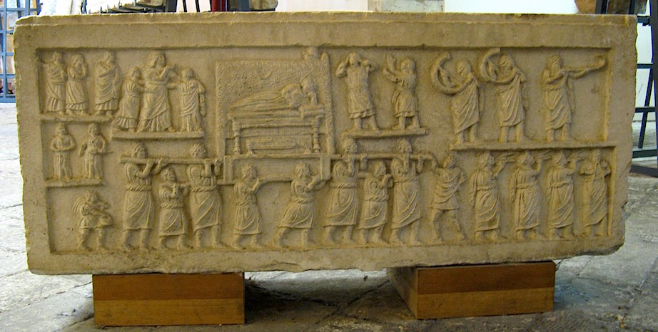 Funerary procession, Amiternum, c. 50-1 B.C.E. (Museum, Aquila) (photo: Erin Taylor, CC BY-NC-ND 2.0)