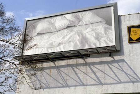 "The Felix Gonzalez-Torres, ""Untitled"" 1991, printed billboard, © The Felix Gonzalez-Torres Foundation"