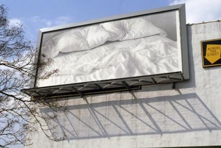 "The Felix Gonzalez-Torres, ""Untitled"" 1991, printed billboard, © The Felix Gonzalez-Torres Foundation"