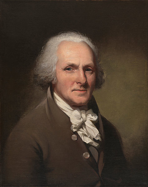 Charles Wilson Peale, Self-Portrait, c. 1791, oil on canvas, 84.8 x 72.1 cm (National Portrait Gallery, Smithsonian Institution)