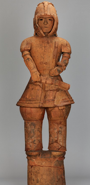 Hawiwa Armored Man, National treasure, excavated in Iizuka-machi, Ota City, Gunma Prefecture, Kofun period/6th century 130.5 cm (Tokyo National Museum) zoomable image ©National Institutes for Cultural Heritage