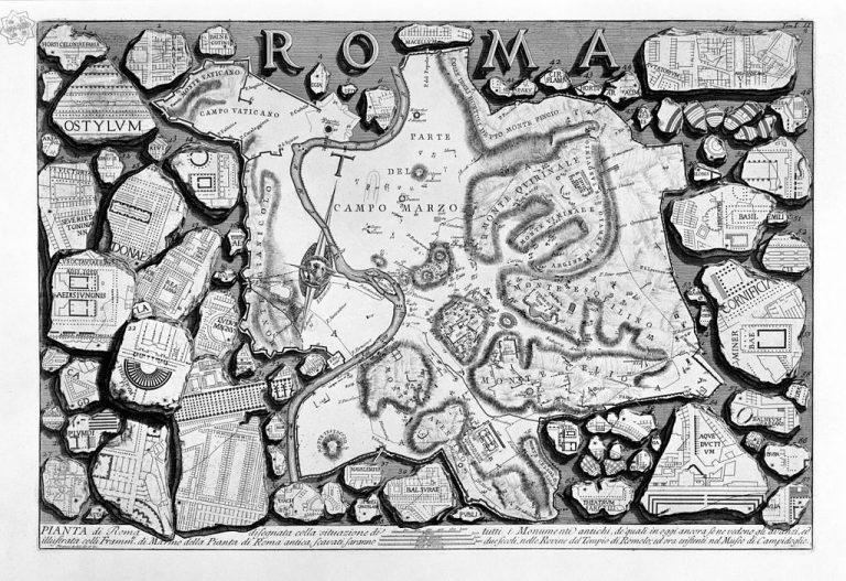 Severan Marble Plan Forma Urbis Romae Article Khan Academy - Rome map cartoon