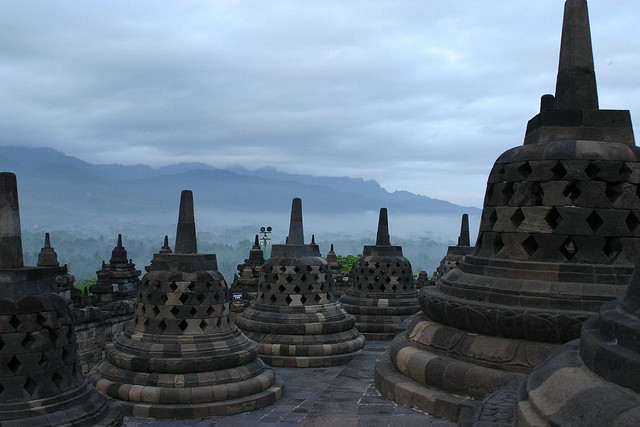 Borobudur, Indonesia (photo: Gildardo Sánchez, CC BY-NC-SA 2.0)