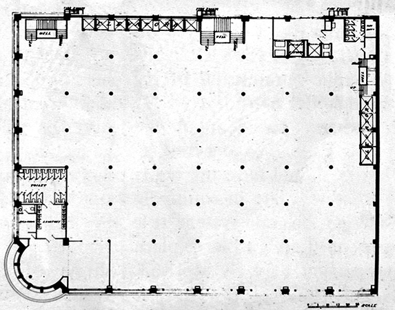 Sullivan carson pirie scott building architecture and for Sullivan floor plan