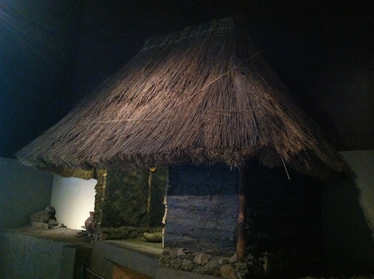 Reconstruction, house from the basin of Mexico, c. 1500 B.C.E.