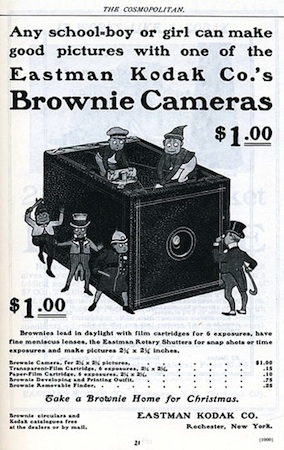 Eastman Kodak Advertisement for the Brownie Camera, c. 1900