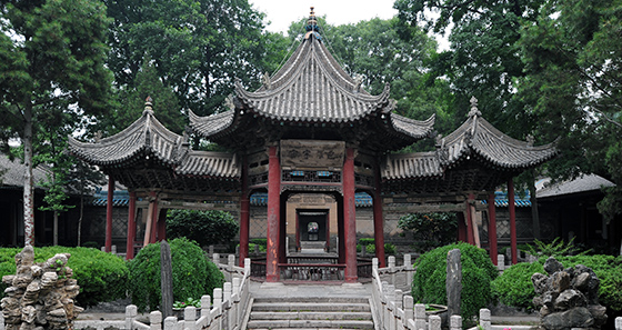 View of the Great Mosque of Xi'an (photo: chensiyuan)