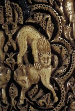 Pyxis of al-Mughira (detail) (photo: University Libraries, University of Washington)