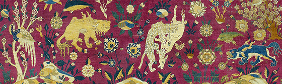 Detail of animals fighting