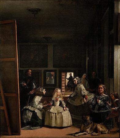 Diego Velázquez, Las Meninas, 1656, oil on canvas, 318 x 276 cm (Museo del Prado, Madrid)