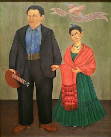 Frida Kahlo, Frieda and Diego Rivera, 1931, oil on canvas, 39-3/8 x 31 inches (San Francisco Museum of Modern Art)