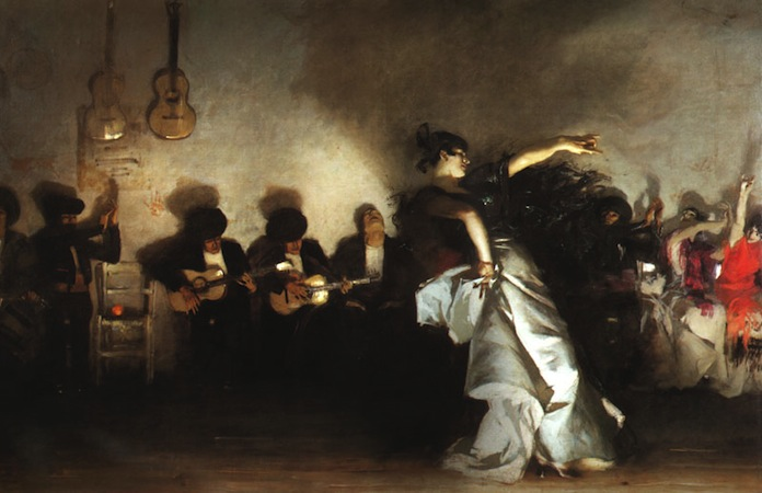 John Singer Sargent, El Jaleo, 1882, oil on canvas, 232 x 348 cm (Isabella Stewart Gardner Museum, Boston)